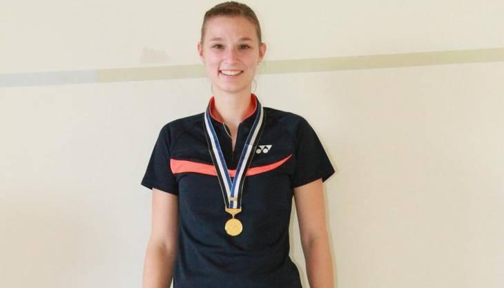 Lea Müllers Leistung wurde dreifach vergoldet.