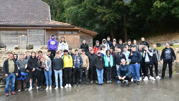 46 Teinehmer des Herbstlager Jura/BLV