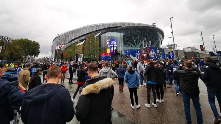 Eindrückliche Hütte: So sieht das neue Stadion der Spurs aus.