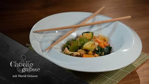 Kichererbsen Curry mit Pouletgeschnetzeltem von David Geisser