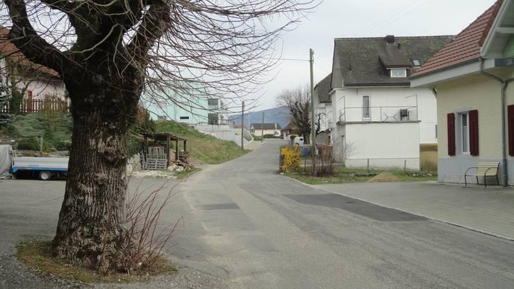 Vorstadtstrasse Laupersdorf wird saniert.