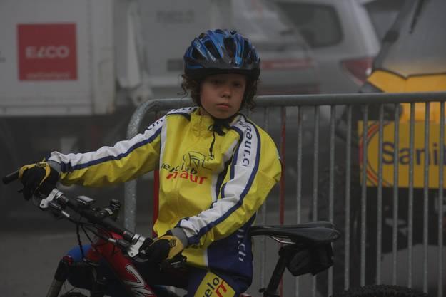 Junge Radfahrer