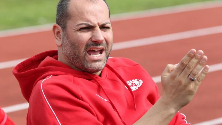 Sind seine Tage als Trainer des SC Zofingen gezählt? Flavio Catricala.