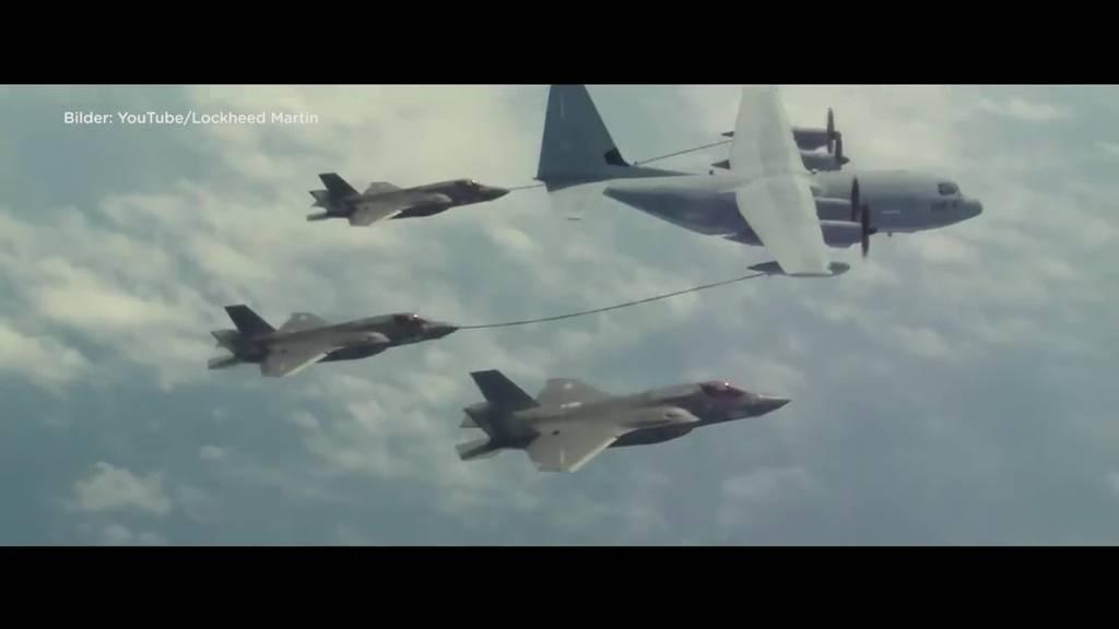 Kampfjet-Entscheid: Amherd will 36 F-35A aus den USA