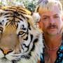 Joe Exotic und einer seiner Tiger