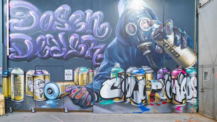 graffiti besser etablieren diese galerie bietet raum. Black Bedroom Furniture Sets. Home Design Ideas