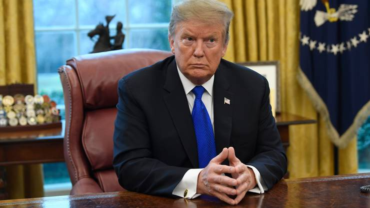 US-Präsident Donald Trump im Oval Office: Eine friedliche Machtübergabe will er nicht garantieren.