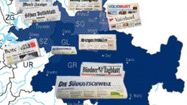 Der Zeitungsverbund der «Südostschweiz» hat eine Gesamtauflage von 122 723 Exemplaren. Davon entfallen 43 858 auf das Hauptblatt in Graubünden.