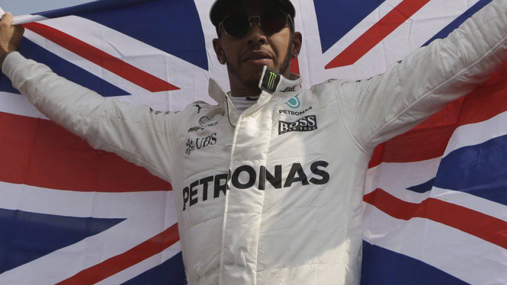 Grosser Champion und Lebemann: Lewis Hamilton