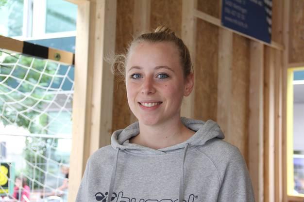 Ellen Welti «Rubik's Cube»-Team, Handballerin: «Es gab Interessenten, doch diesen war der Bau eine Nummer zu gross.»