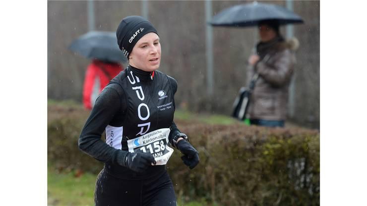 Die zweitplatzierte Diana Schramek aus Rombach.