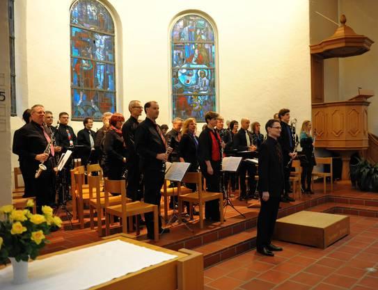 Verdienter Applaus: Die Musiker vom Klarinettenchor Wettingen an einem ihrer Konzerte
