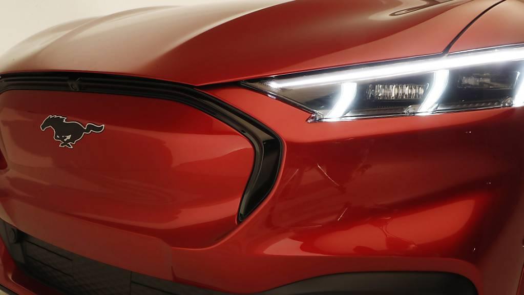 Ford schickt Elektro-Mustang ins Rennen. (Archiv)