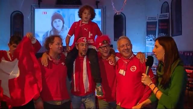 Schweiz schafft die Qualifikation!