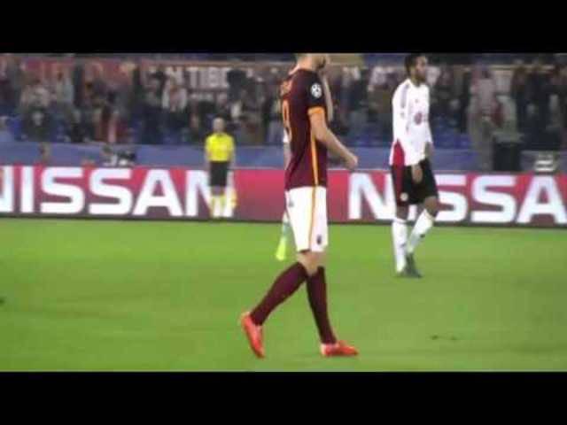 Roma gewinnt gegen Bayer Leverkusen in einer schwachen Partie mit 3:2.