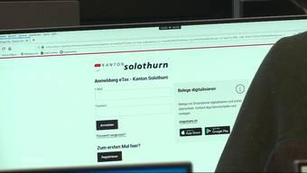 """Die Steuererklärung kann im Kanton Solothurn ab sofort online ausgefüllt und eingereicht werden. Die Steuerbehörde setzt dazu auf das neue Online-Angebot """"eTax"""". Die Applikation ersetzt das bisherige """"SolothurnTAX""""."""