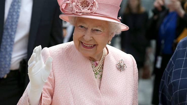 Sie lebe noch, seufzte die Queen - mehr wollte sie zum Brexit nicht sagen. (Archiv)