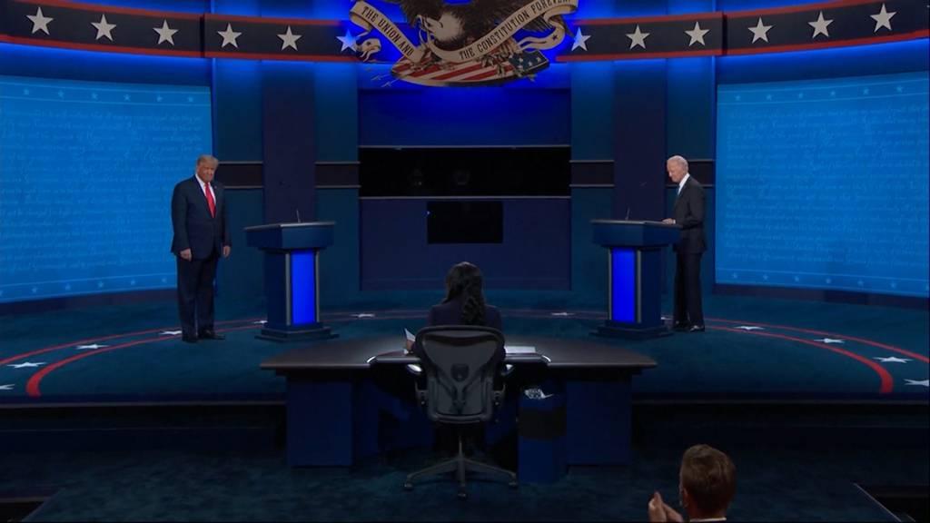 Letzte TV-Debatte zwischen Donald Trump und Joe Biden: Wer gewinnt?