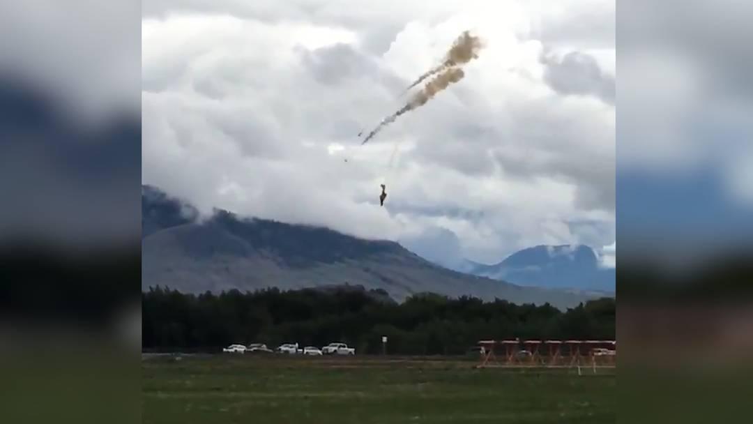 Drama im Westen Kanadas: Absturz von Air-Force-Jet fordert eine Tote
