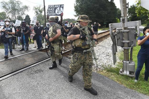 Die Formierung von Milizen in den USA hat eine lange Geschichte.
