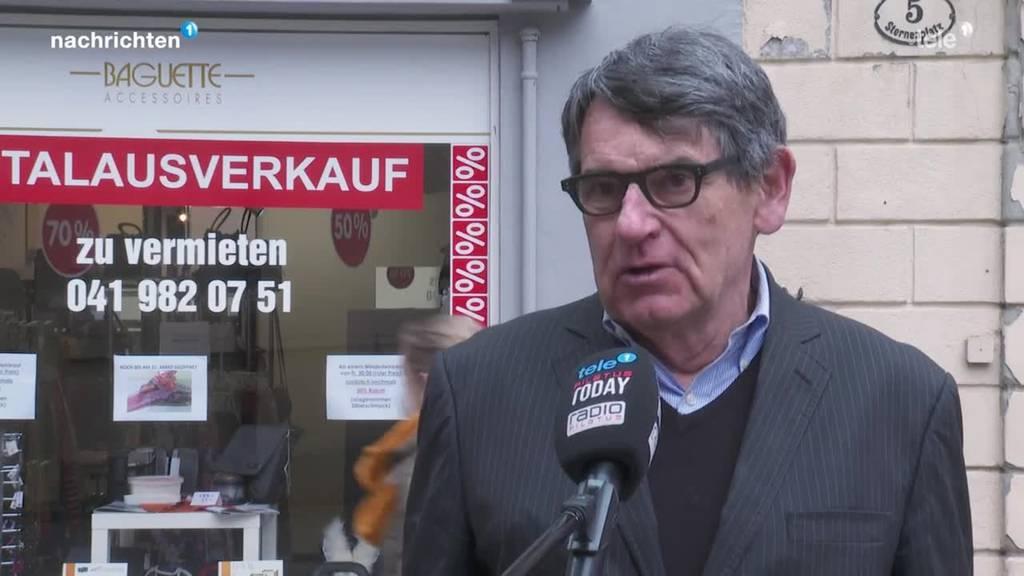 Problem Ladensterben verschärft sich in Luzern
