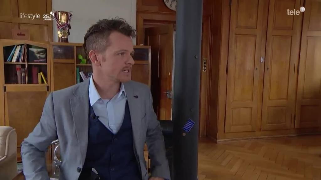Marco D. Jakob zeigt seinen Lifestyle