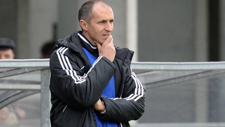 Trainer Thomas Häberli und die U19 des FC Basel verpassen in der Uefa Youth League die Achtelfinals