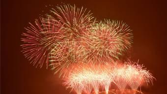 Am 21. März stieg in Oensingen das grösste Feuerwerk der Schweiz.