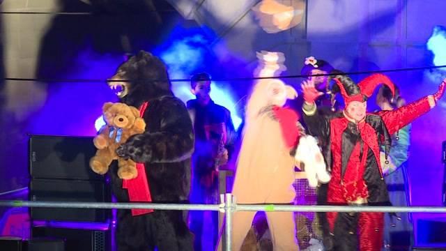 Bärenbefreiung auf dem Bärenplatz