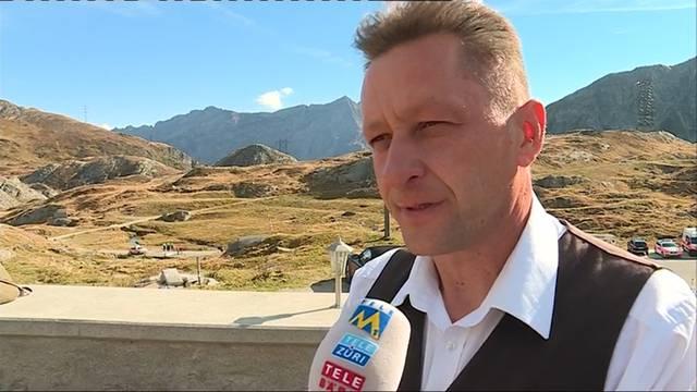 Helikopter-Absturz auf dem Gotthard-Pass: Ein Augenzeuge sagt, dass die Rotoren die Stromleitung touchiert haben.