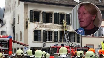 Bernhard Zaugg musste sein Hab und Gut zurücklassen.