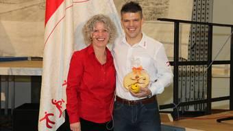 Antje Lässer hat die Führung des Solothurner Turnverbandes am Samstag an Christian Sutter übergeben.