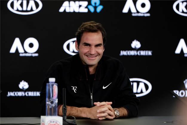 Hat die besten Karten in der Hand, muss sie aber noch ausspielen: Topfavorit Roger Federer.Keystone