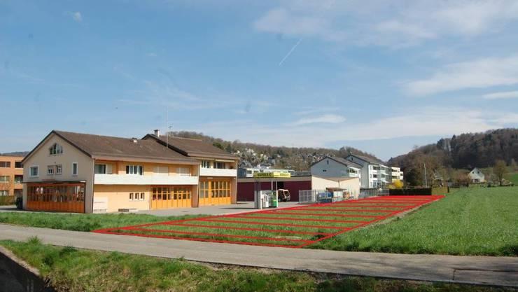 Dieses Grundstück in der Breite kauft die Gemeinde Birmensdorf.