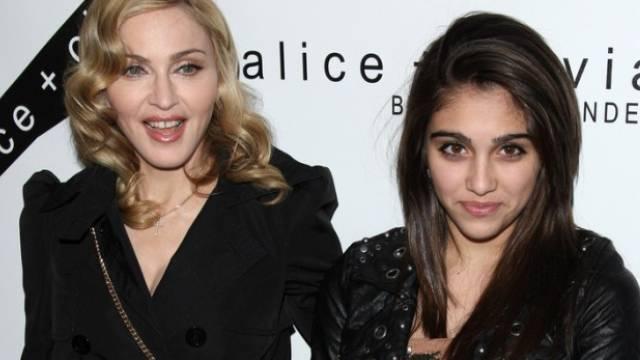 Momentan in Gstaad: Madonna und Tochter Lourdes (Archiv)
