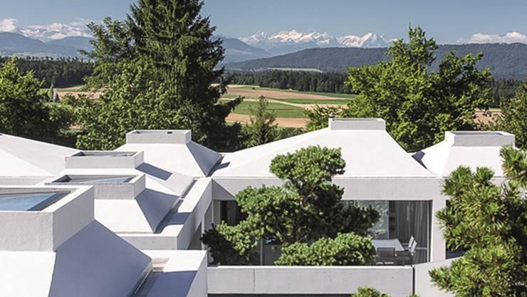 Preisgekrönte Hofhäuser von Think Architecture, Zürich, in Zumikon. HO