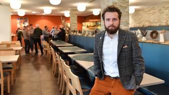"""Darko Bosnjak, Geschäftsführer des Hotel Olten, hat eine klare Meinung bezüglich Öffnung der Gewerbebetriebe: """"Lieber später öffnen, dafür richtig."""""""