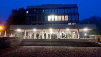 Das Obergericht in Aarau: Der Kosovare durfte sich über den Richterspruch freuen.