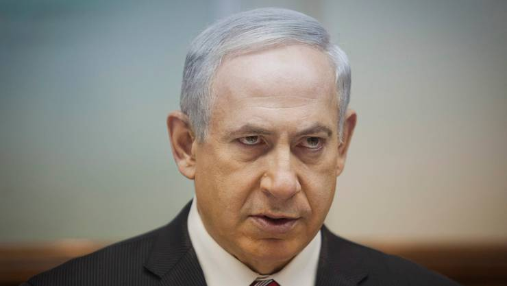 Israels Premierminister Benjamin Netanjahu.