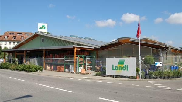 Die Landi in Lenzburg wird umgebaut.