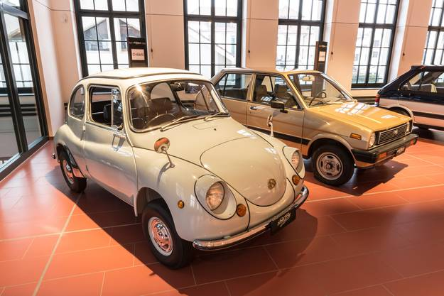 Subaru 360 (1958 bis 1971) und Justy I (194 bis 1995)