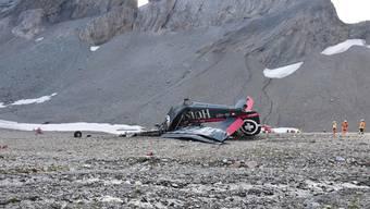 Kopie von Abgestürzte JU-52 «Tante JU» in Flims GR