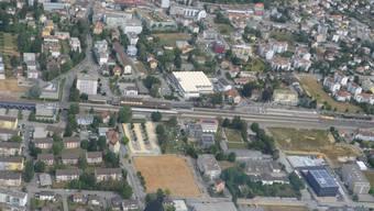 Soll im Rahmen des Aggloprogramms entwickelt werden: das Gebiet um den Südbahnhof.