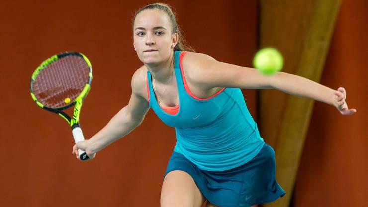 Bojana Klincov bestreitet in Oberentfelden ihren ersten Halbfinal bei einem ITF-Turnier der vierten Kategorie.