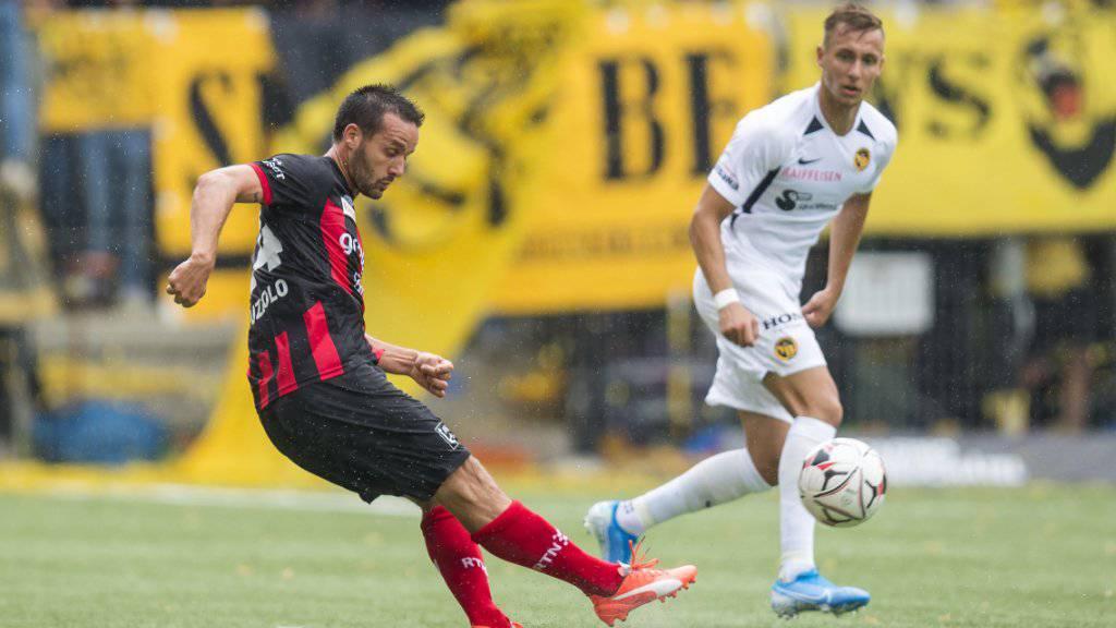 Raphaël Nuzzolo muss nach der Beurteilung des SFL-Rekursgerichtes keine weiteren Spielsperren mehr absitzen