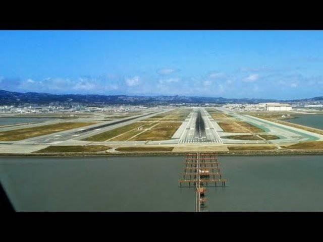 Auch schön: So sieht die Landung in San Francisco für den Piloten aus – am Beispiel eines A380 der Lufthansa.