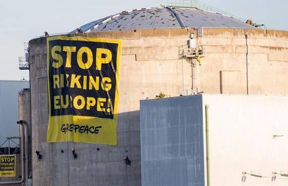 «Stop risking Europe» heisst das Motto der Organisation Greenpeace.