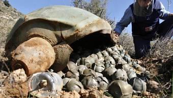 Keine Einigung auf ein Verbot: Streumunition, hier im Libanon Archiv)