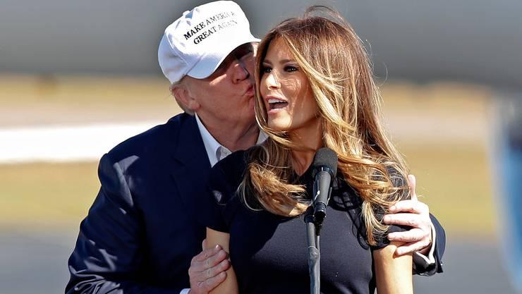 Mächtige Liaison: Donald und Melania Trump.