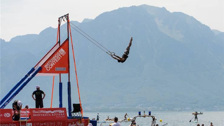 In Montreux finden schon seit ein paar Jahren «Waterings»-Wettkämpfe statt.